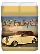 1947 Bentley Duvet Cover