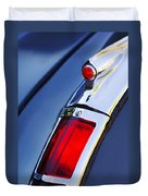 1947 Cadillac Model 62 Coupe Taillight  Duvet Cover