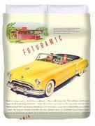 1948 - Oldsmobile Convertible Automobile Advertisement - Color Duvet Cover