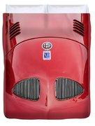 1948 Alfa Romeo Nardi Danese Convertible Duvet Cover