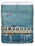 1948 Chevrolet Thrift Master Duvet Cover