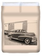 1948 Chevy Duvet Cover