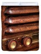 1948 Mantola Radio Duvet Cover