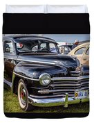 1948 Plymouth Special Deluxe Coupe  Duvet Cover