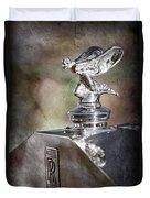 1948 Rolls-royce Hood Ornament - Emblem Duvet Cover
