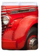 1949 Diamond T Truck Front End Duvet Cover