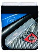 1949 Ford F-1 Pickup Truck Step Plate Emblem -0043c Duvet Cover
