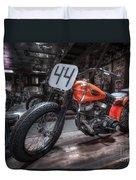 1949 Harley Davidson Duvet Cover