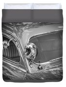 1949 Mercury Club Coupe Bw   Duvet Cover