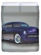 1949 Mercury Duvet Cover