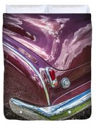 1950 Chevrolet Tailights And Bumper Duvet Cover