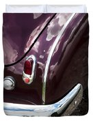 1950 Chevrolet Taillight And Bumper Duvet Cover