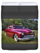 1950 Custom Mercury Duvet Cover