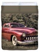 1950 Custom Mercury Subdued Color Duvet Cover