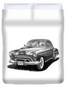 1950 Oldsmobile Rocket 88 Duvet Cover