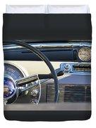1950 Oldsmobile Rocket 88 Steering Wheel 3 Duvet Cover