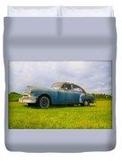 1950 Pontiac Chieftan Duvet Cover