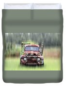 1951 Ford Truck - Found On Road Dead Duvet Cover