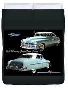 1951 Mercury Come And Going Duvet Cover by Jack Pumphrey