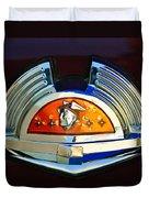 1951 Mercury Emblem Duvet Cover