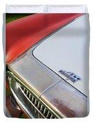 1952 Cunningham C-3 Vignale Cabriolet Grille - Hood Emblem Duvet Cover