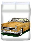 1952 Ford Victoria Duvet Cover