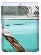 1952 Oldsmobile 98 Holiday Hardtop Side Emblem -1454c Duvet Cover