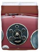 1953 Aston Martin Db2-4 Bertone Roadster Instrument Panel Duvet Cover