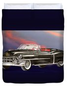 1953  Cadillac El Dorardo Convertible Duvet Cover