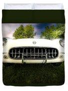 1954 Corvette Stingray Duvet Cover