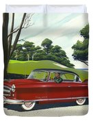 1953 Nash Rambler - Square Format Image Picture Duvet Cover