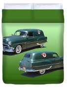 1953 Pontiac Panel Delivery Duvet Cover