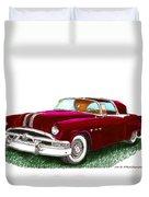 1953 Pontiac Parisienne Concept Duvet Cover by Jack Pumphrey