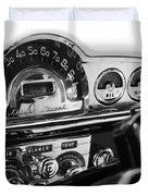1953 Pontiac Silver Streak Duvet Cover