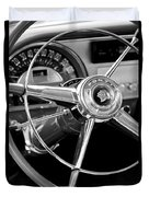1953 Pontiac Steering Wheel 2 Duvet Cover