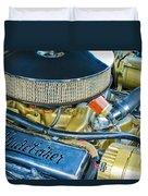 1953 Studebaker Champion Starliner Engine Duvet Cover
