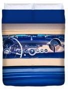 1954 Chevrolet Corvette Steering Wheel -139c Duvet Cover