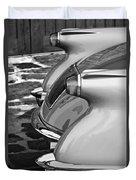 1954 Chevrolet Corvette Taillights -304bw Duvet Cover