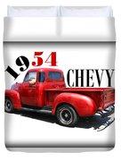 1954 Chevy Duvet Cover