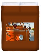 1954 Classic American Lafrance Type 700 Pumper Fire Engine Duvet Cover