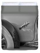 1954 Hudson Hornet Duvet Cover