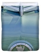 1954 Oldsmobile Super 88 Hood Ornament Duvet Cover