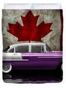 1955 Bel Air Patriot Duvet Cover