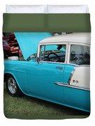 1955 Chevrolet 210 Duvet Cover
