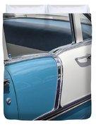 1955 Chevrolet 4 Door Duvet Cover
