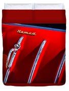 1955 Chevrolet Belair Nomad Hood Ornament -559c Duvet Cover