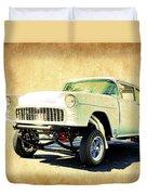 1955 Chevrolet Gasser Duvet Cover