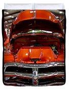 1955 Chevrolet Truck-american Classics-front View Duvet Cover