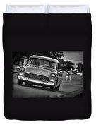 1955 Chevy Bel Air Duvet Cover