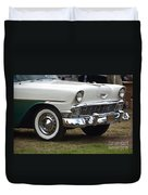1956 Chevy Nomad  Duvet Cover